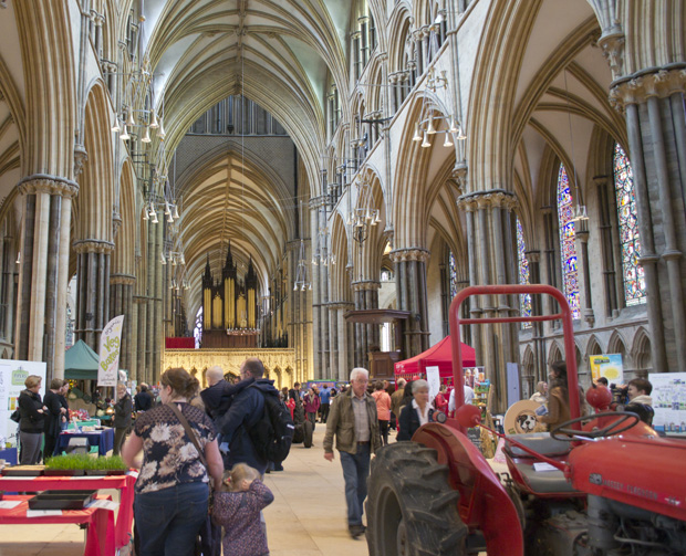 Lincolnshire Food and Farming Festival, Lincoln Cathedral