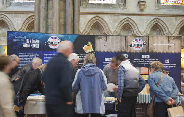 Lincolnshire Food and Farming Festival, Lincoln Cathedral - Traditionally Smoked