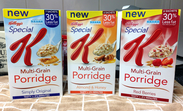 Review: Special K Multi-Grain Porridge