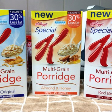 Giveaway Winner: Special K Multi-Grain Porridge
