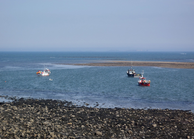 View from Holy Island (Lindisfarne), May 2013