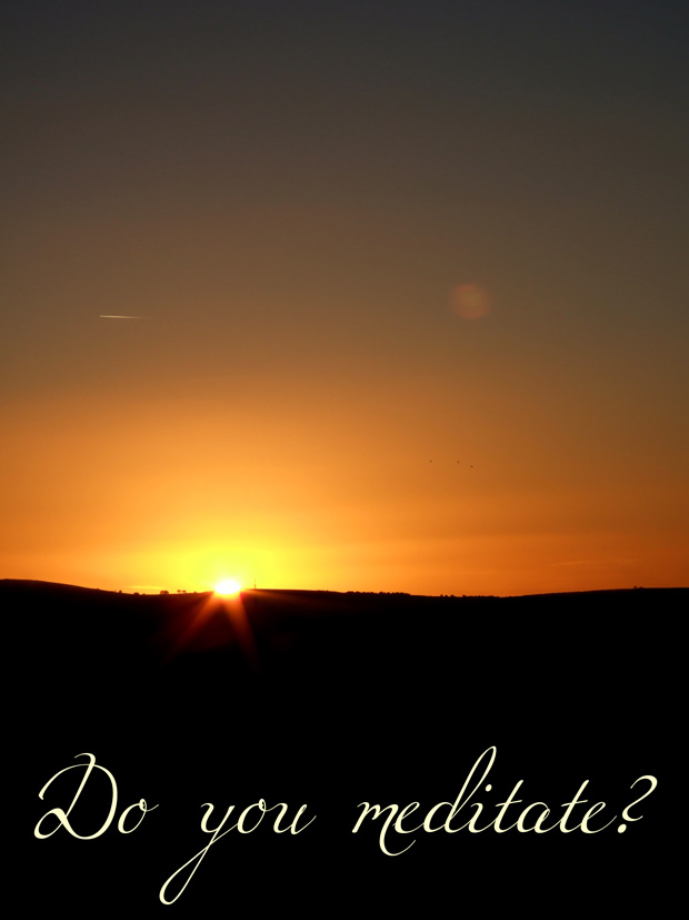 Sunset from Curbar Edge - Do You Meditate?