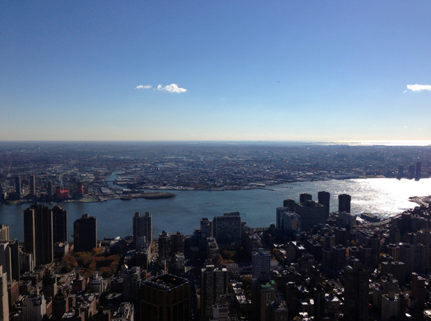 View from the Empire State Building Observation Deck