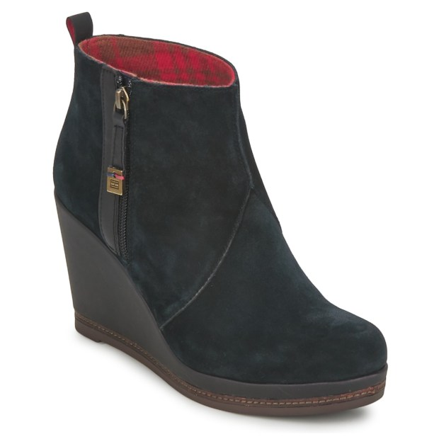 Black Wedges by Tommy Hilfiger