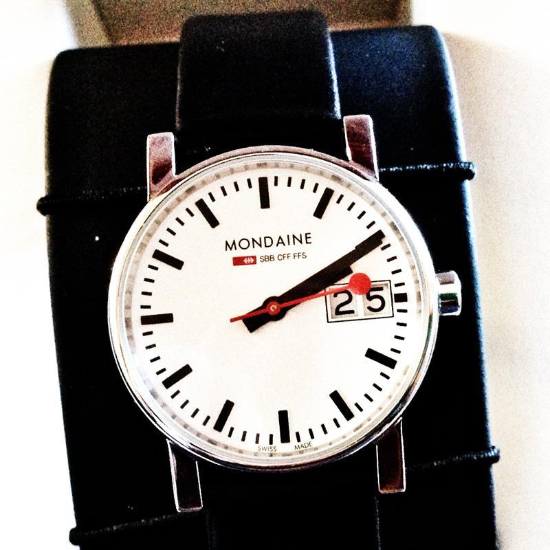 New Mondaine Swiss Railway Watch