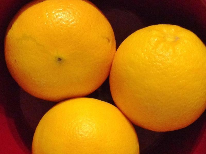 Year in Photos 02 Jan - Oranges