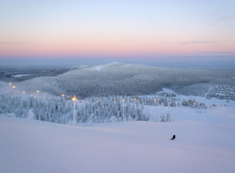 Winter Holiday in Ruka, Finland