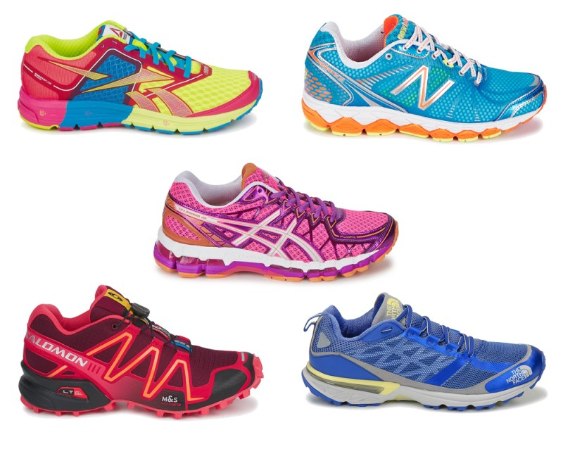 Brightly Coloured  Trainers from Spartoo