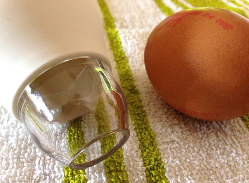Pluck Egg Separator