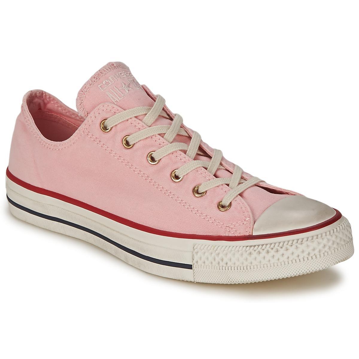 Shorts and Baby Pink Converse?