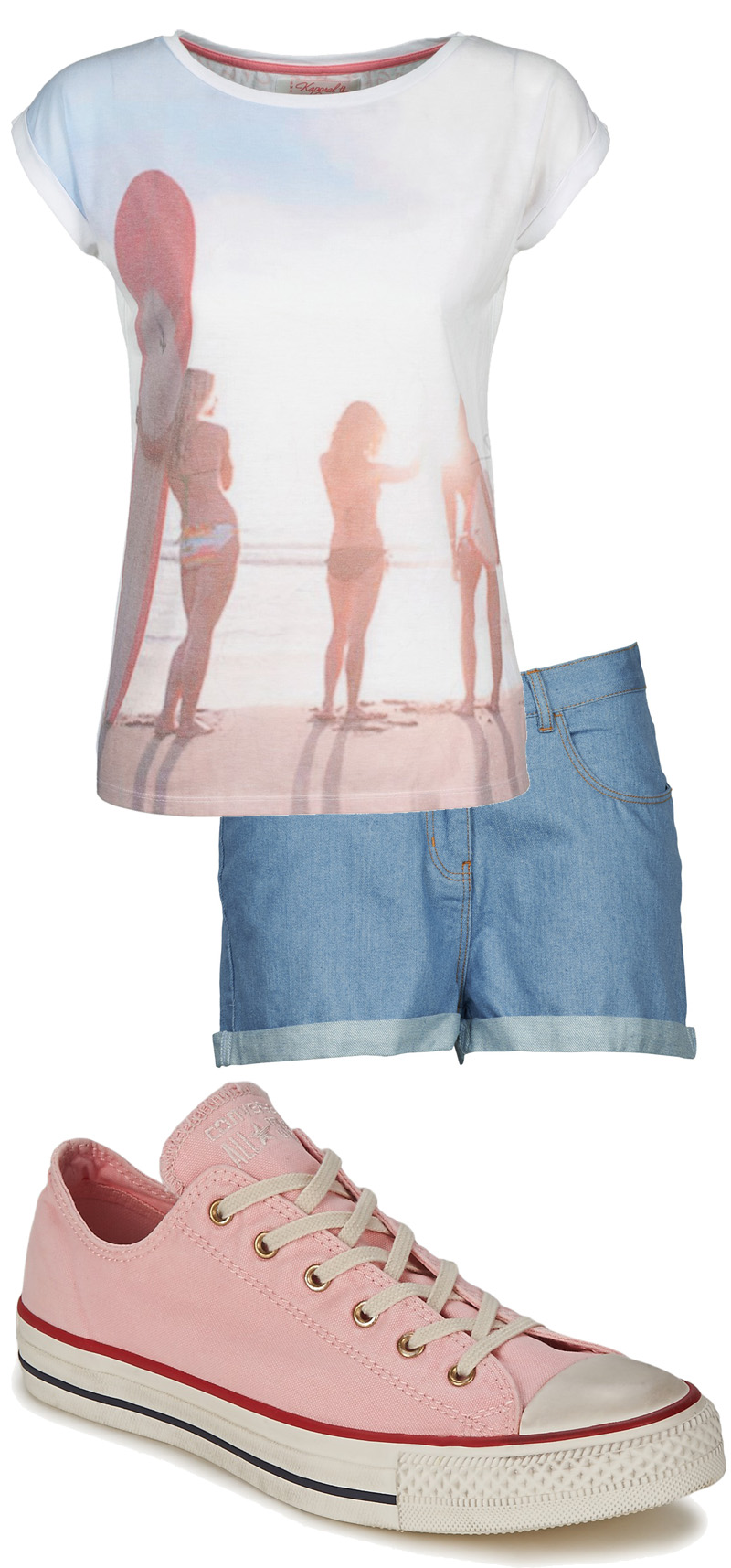Spartoo Outfit - Pink Converse