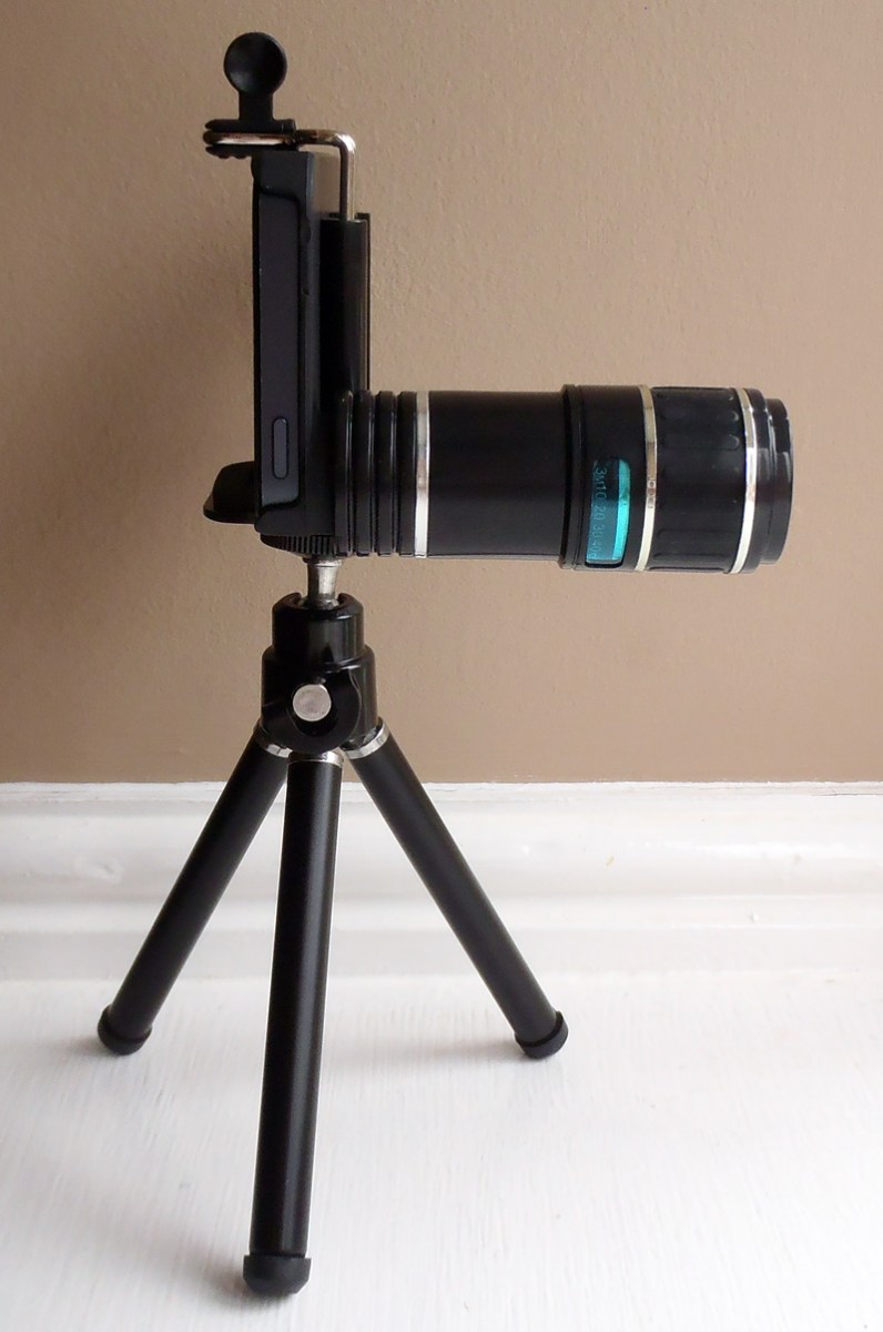 Telescope Camera Lens for iPhone 5