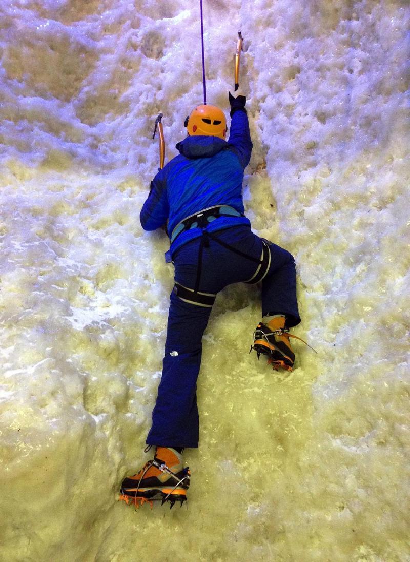 26 April - Ice Climbing at Covent Garden