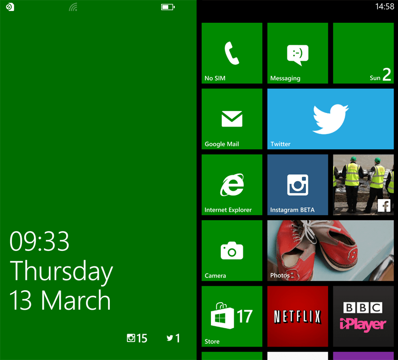 Nokia Lumia 1320 Screenshot