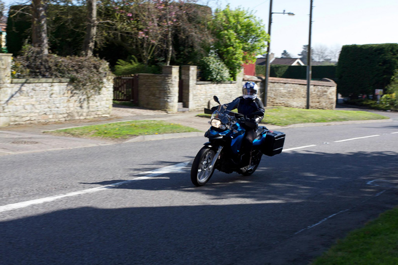 Riding my F650GS in Lincolnshire