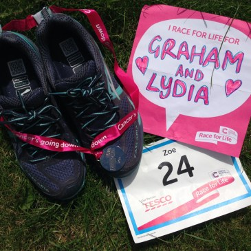 Race for Life 10k (and some new Brooks trainers)