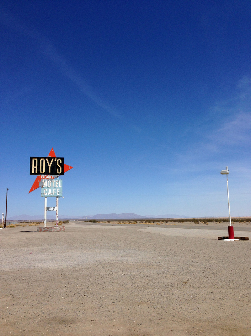 Roy's Motel & Cafe on Route 66