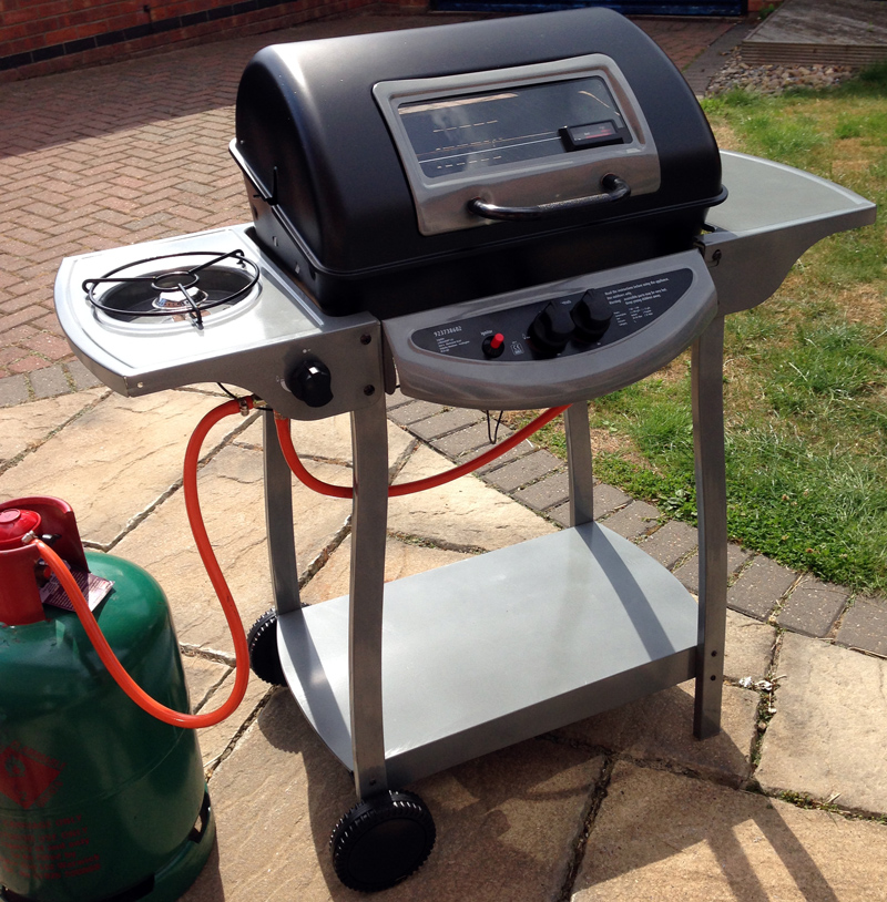 Review: Grill Chef by Landmann Gas Barbecue from Asda