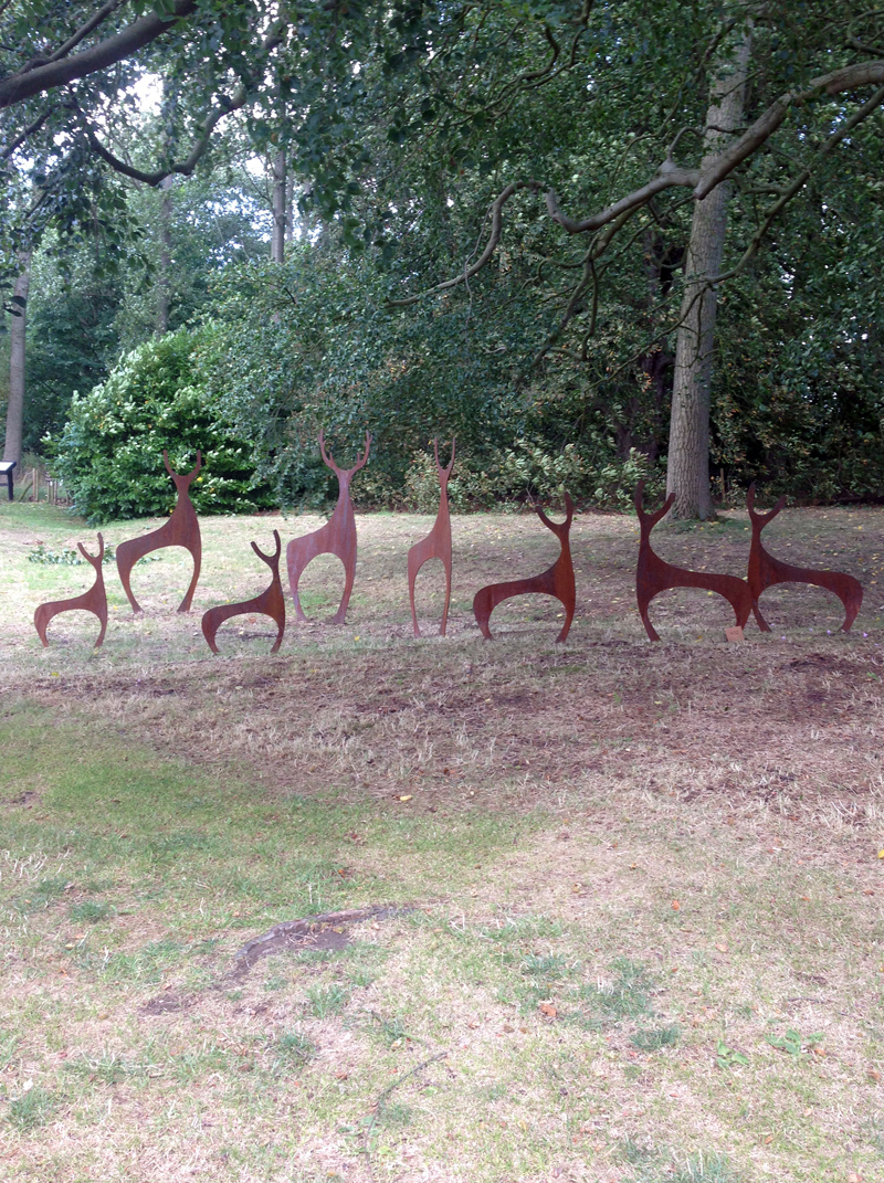 Sculpture at Doddington Hall, Lincoln