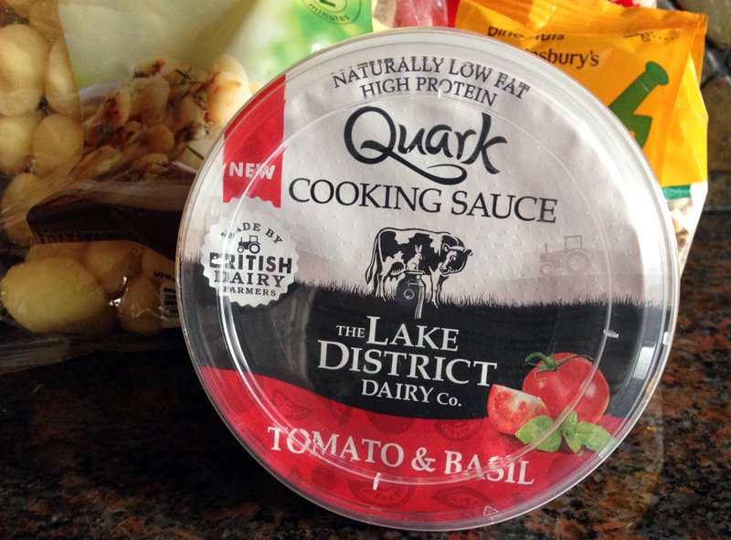 Testing out Quark Cooking Sauces