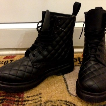 My new Quilted Dr Martens