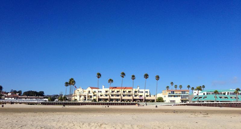 Pilmo Beach, California (The Sandcastle Inn)