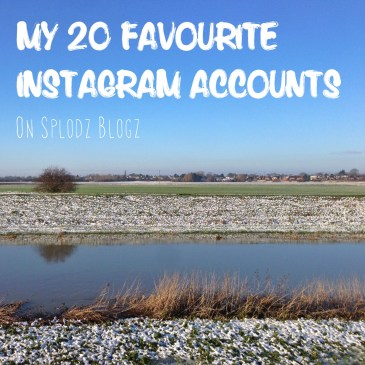 TWENTY FAVOURITE INSTAGRAM ACCOUNTS