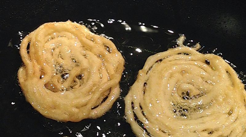 Making Funnel Cake
