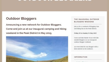 Outdoor Bloggers Screenshot