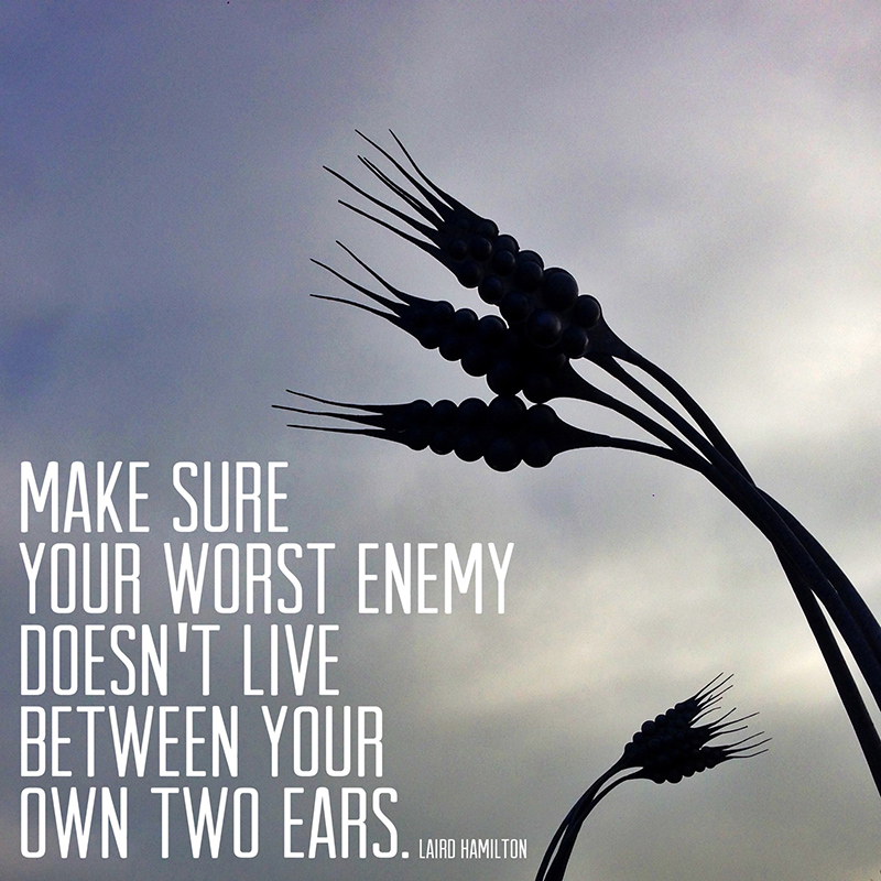 { Sunday Soliloquy } Own Worst Enemy