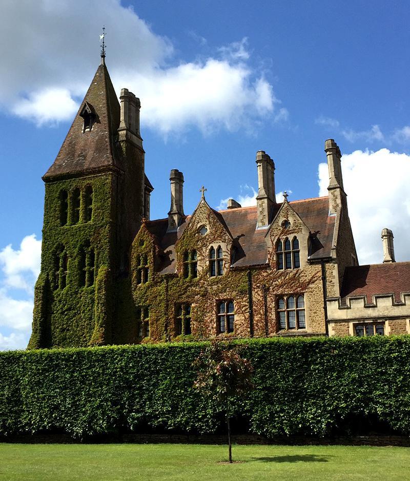 30DaysWild - Charterhouse School Ivy Building