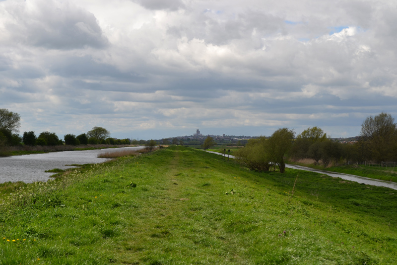 Stephen Langton Trail - River Witham Bank