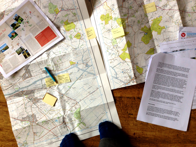 Stephen Langton Trail - Route Planning