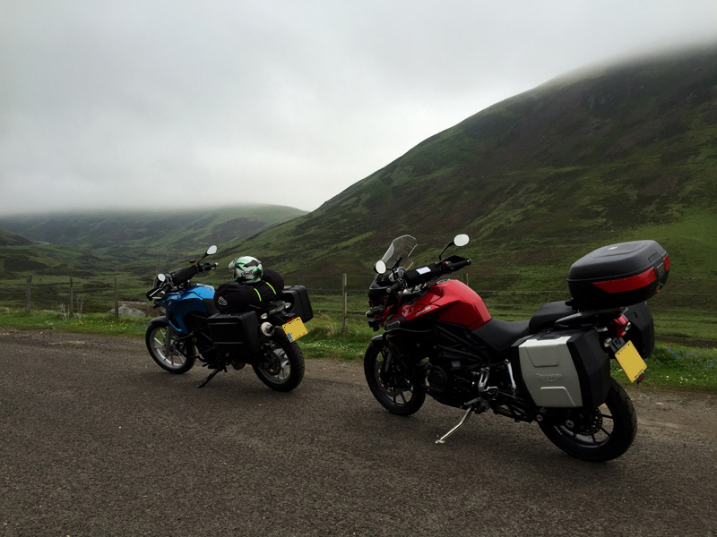 The Bikes in Glenshee, Scotland