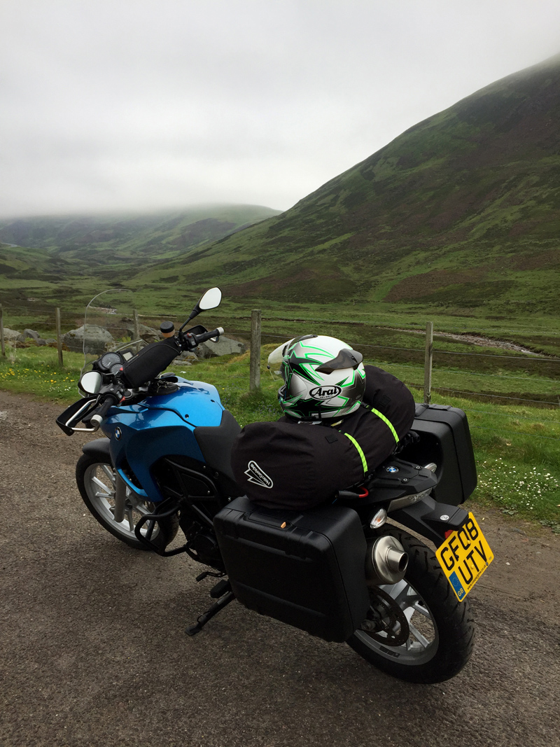 F650GS in Glenshee