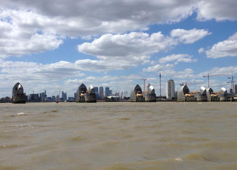 Thames RIB Experience - Thames Barrier