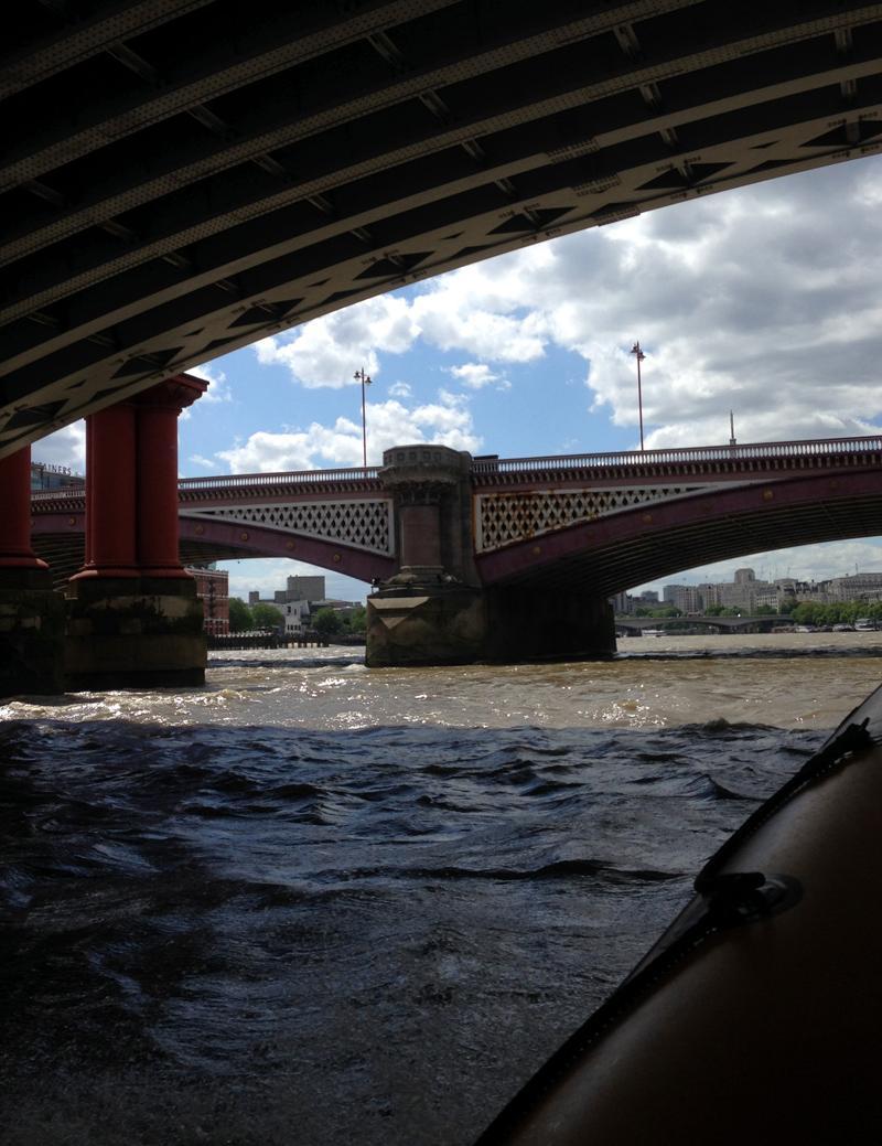 Thames RIB Experience - Underneath Bridges