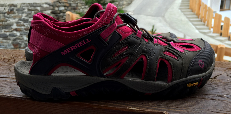 Merrell All Out Blaze Sieve Hiking Shoes / Sandals - Splodz Blogz