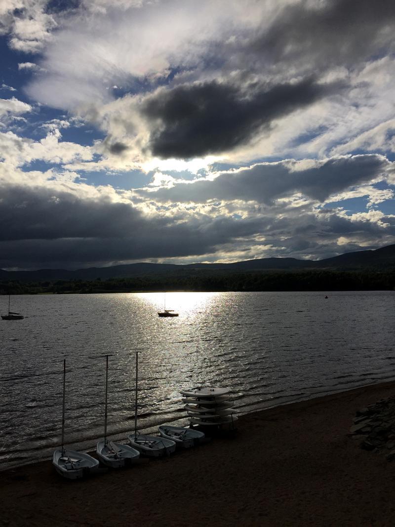 Scotland by Motorbike - Loch Insh