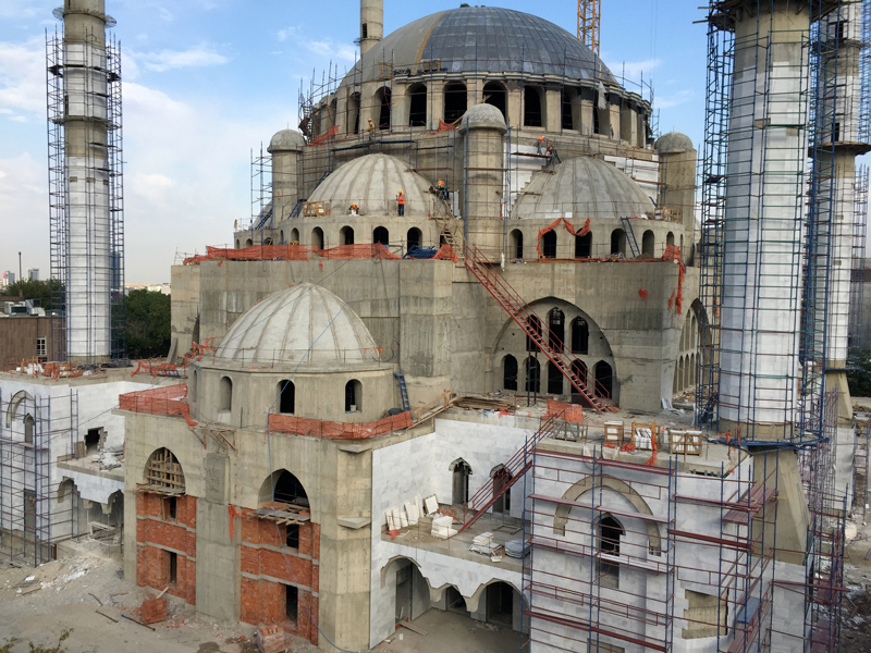 TopDeck Turkey Diary - New Mosque