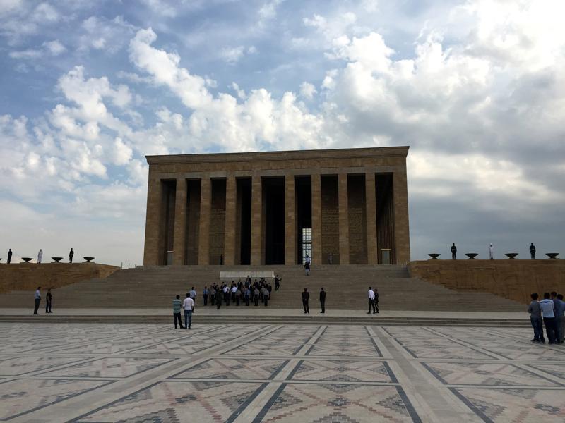 TopDeck Turkey Diary - Ataturk Mausoleum