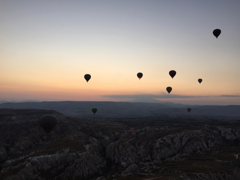 Hot Air Ballooning in Cappadocia | Splodz Blogz