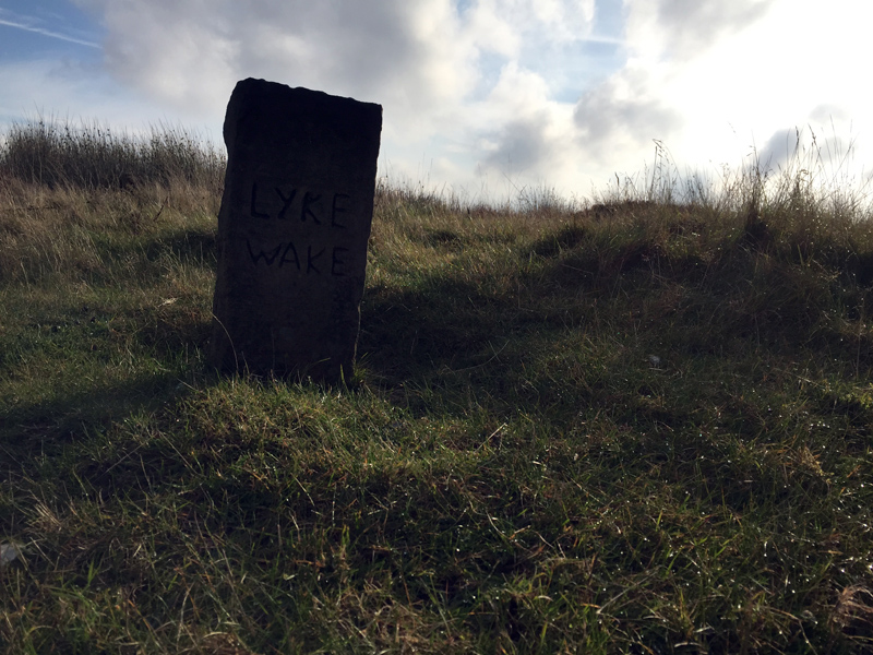 Lyke Wake Walk - Mid-Point Stone