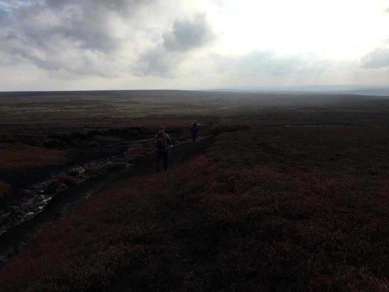 Lyke Wake Walk - Peat Bog