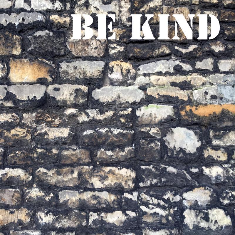 Be Kind Wall
