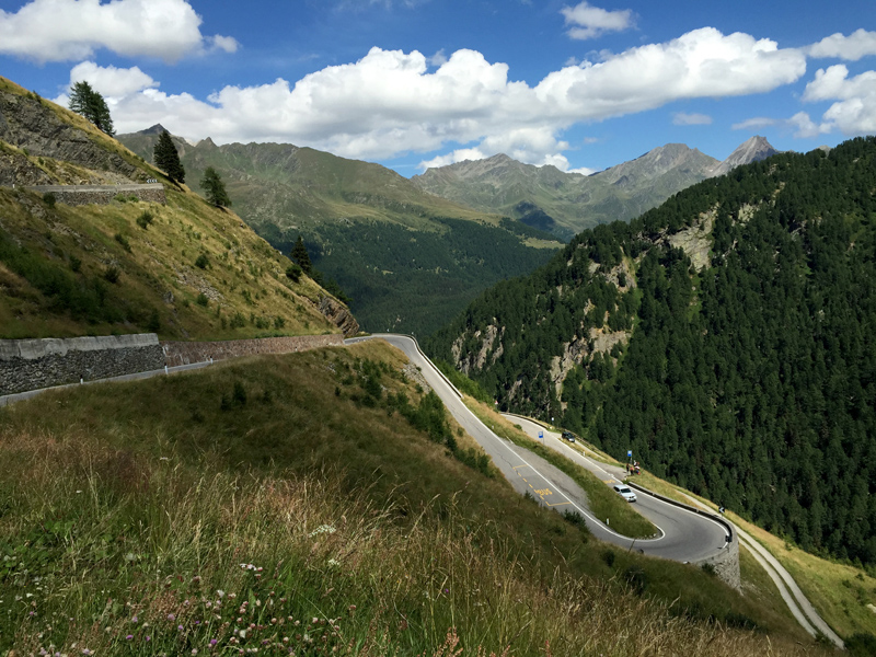 Motorbike Tour of Europe - Timmelsjoch Pass