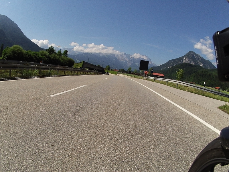 Motorbike Tour of Europe - Mountain Views