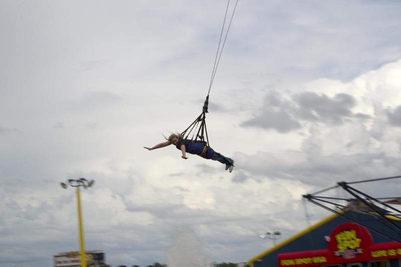 Orlando, Florida - On the Sky Coaster