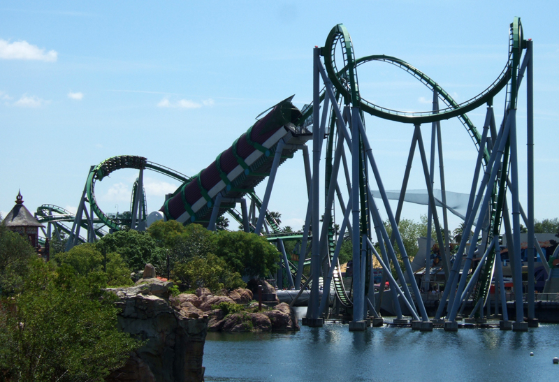 Orlando, Florida - Incredible Hulk Coaster
