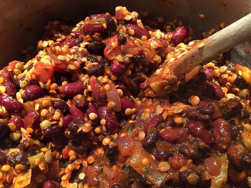 Veggie Chilli Recipe with Splodz Blogz